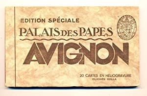 Avignon - Palais des Papes, Edition Spéciale (Book of 20 Postcards)