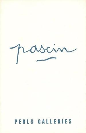 Jules Pascin: Nov. 14 - Dec. 24,