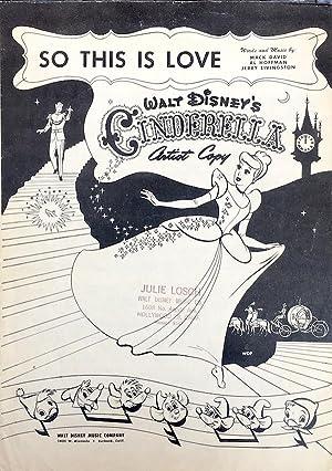So This Is Love (from Walt Disney's: Mack David, Al