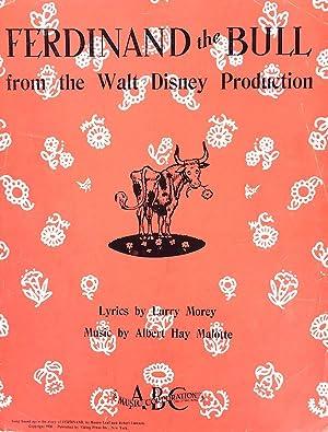 Ferdinand The Bull (from The Walt Disney: Larry Morey, Albert