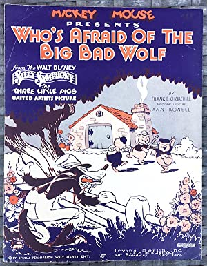 Mickey Mouse Presents Who's Afraid Of The Big Bad Wolf (From the Walt Disney 'Silly Sympyhony'; T...
