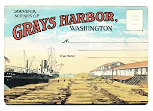 Souvenir Scenes Of Grays Harbor, Washington