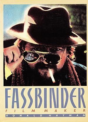 Fassbinder: Film Maker: Ronald Hayman