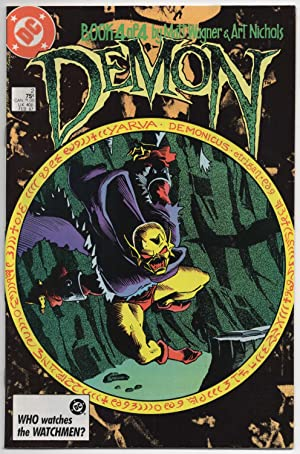 The Demon #2 of 4 - February 1987 (Four Part Mini-series)
