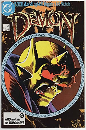The Demon #4 of 4 - April 1987 (Four Part Mini-series)