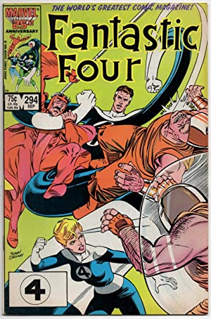 Fantastic Four #294 - September 1986
