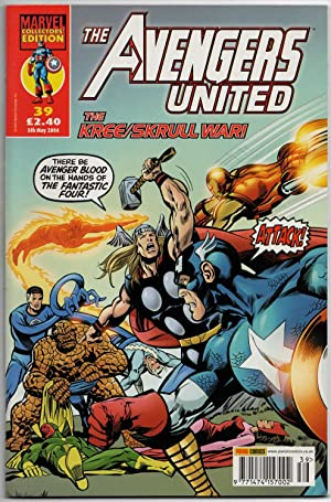 The Avengers United #39 - 5th May 2004 - Marvel Collectors' Edition.
