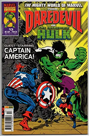 The Mighty World of Marvel #13 (Vol:3) - 25th February 2004 (Daredevil & The Incredible Hulk) - G...