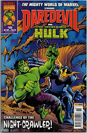 The Mighty World of Marvel #15 (Vol:3) - 21st April 2004 (Daredevil & The Incredible Hulk)