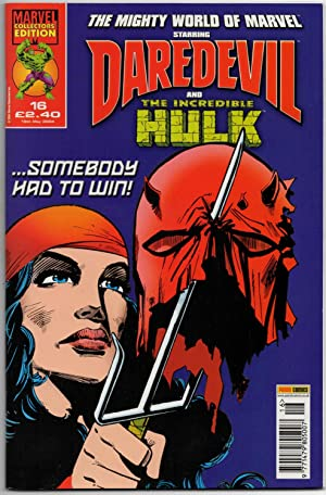 The Mighty World of Marvel #16 (Vol:3) - 19th May 2004 (Daredevil & The Incredible Hulk)