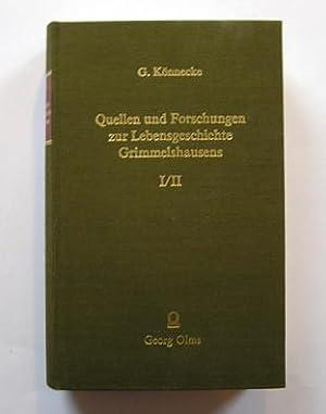 Könnecke: Quellen und Forschungen zur - Lebensgeschichte: Könnecke, G.