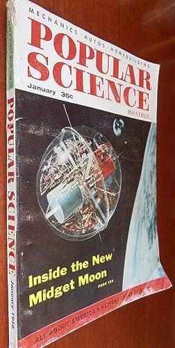 Popular Science Magazine January 1956 - Inside: Various
