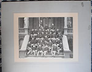1899 St. John's Military Academy MANLIUS NY -- Large Format Original 19th Century Photo - Vail...