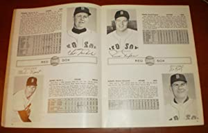 1963 Yearbook Red Sox Yearbook - Original