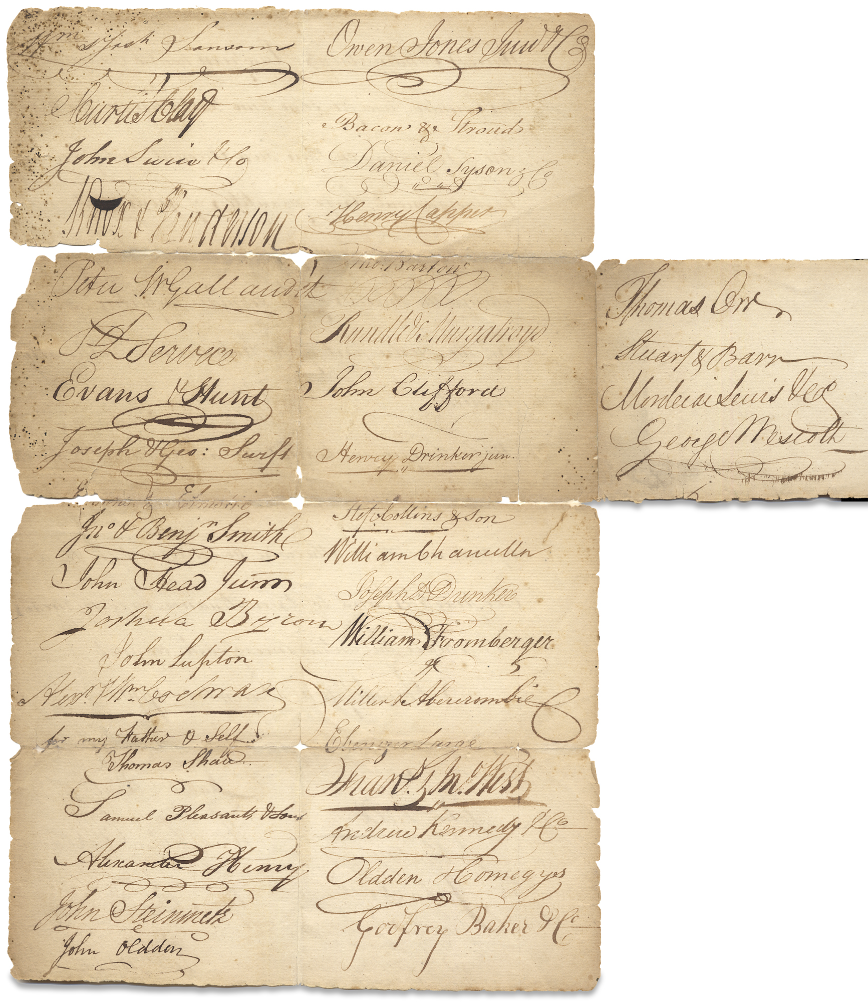 1790 Philadelphia Merchants' and Importers'