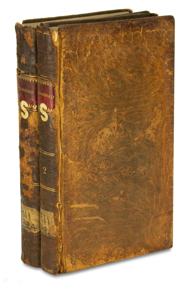 The Columbiad a Poem. [Robert Fulton Association: Barlow, Joel (1754-1812);
