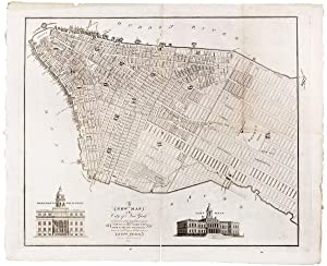 A New Map of the City of New York Comprising all the late Improvements, Compiled and Corrected fr...