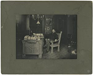 [C. 1910s Large Photographic Portrait of Felix Adler, Reformer and Founder of the Ethical Culture...