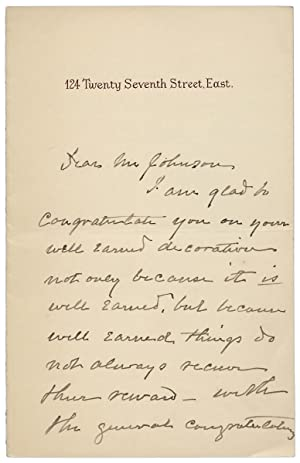 Ca. 1891 Autograph Letter Signed by Candace Wheeler,