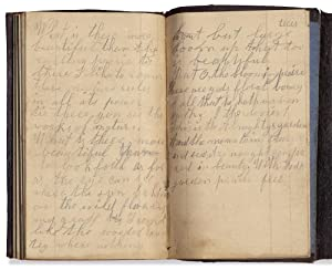 [Semi-Literate's 1854 Pocket Diary from Lindenwood, Ogle County, Illinois with Original Literary ...