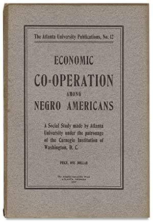 Economic Co-Operation among Negro Americans