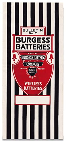 Bulletin No. 7. Burgess Batteries