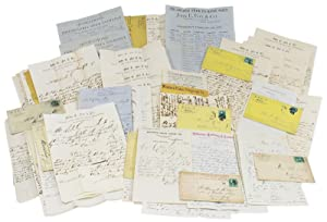 [Archive of 53 Letters and Documents from Stock and Exchange Brokers, John E. Fox & Co. of Philad...