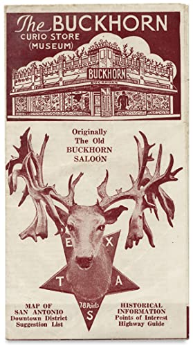 [San Antonio Texas, Map] The Buckhorn Curio Store (Museum)