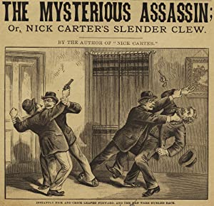 The Mysterious Assassin; Or, Nick Carter's Slender Clew [within:] Nick Carter Library