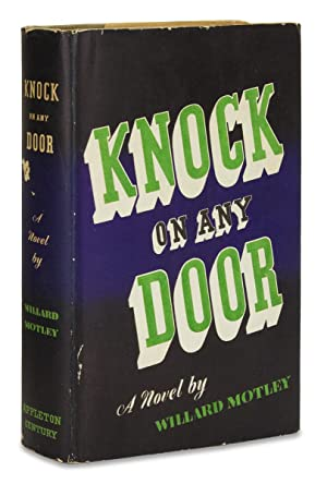 Knock on Any Door. [First Edition]