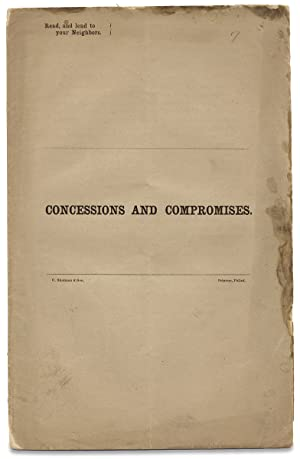Concessions and Compromises