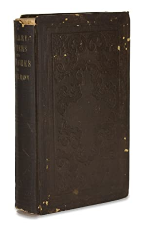 Slavery: Letters and Speeches. [Inscribed and Signed]