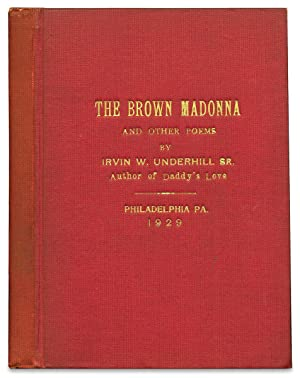 The Brown Madonna and Other Poems. [Presentation Copy]