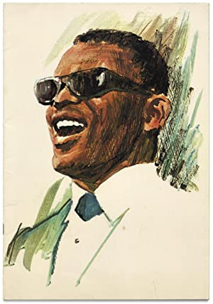 [Ray Charles Promotional Music Concert Program]