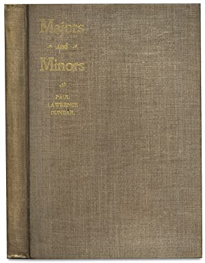 Majors and Minors: Poems by Paul Lawrence Dunbar