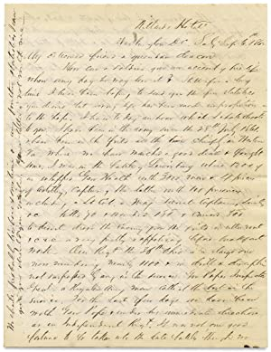 [1862 Civil War Letter by Major Ebenezer Baldwin Andrews, 36th Ohio Infantry, with Battle Content...