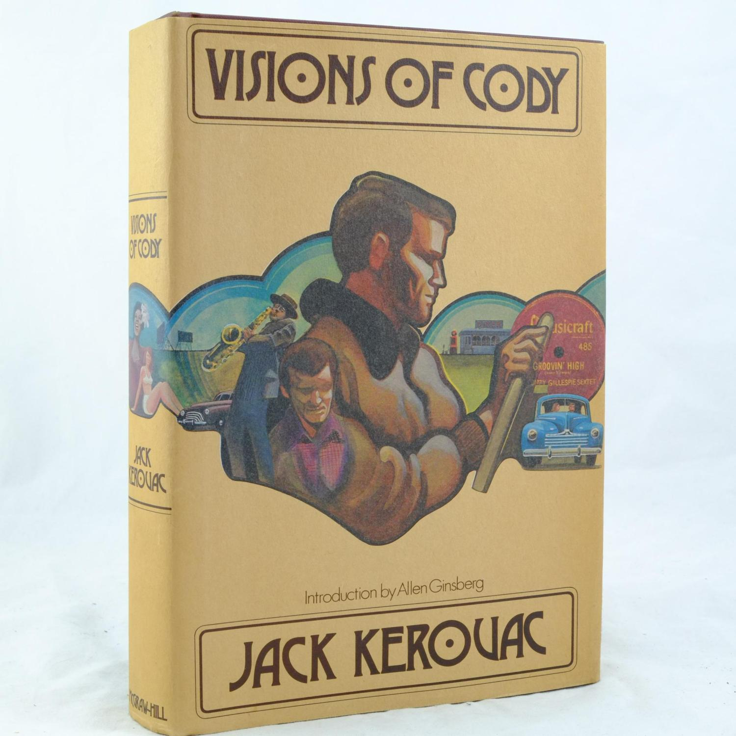 Visions Of Cody By Jack Kerouac Mcgraw Hill Book Company border=