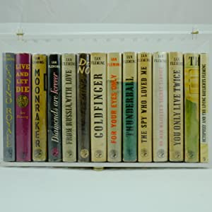 First Edition James Bond Collection, Ian Fleming,: Ian Fleming