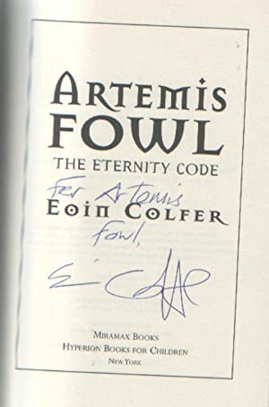 Artemis Fowl : The Eternity Code: Eoin Colfer