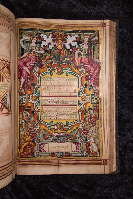1616 Illuminated Folio of the Authorized (