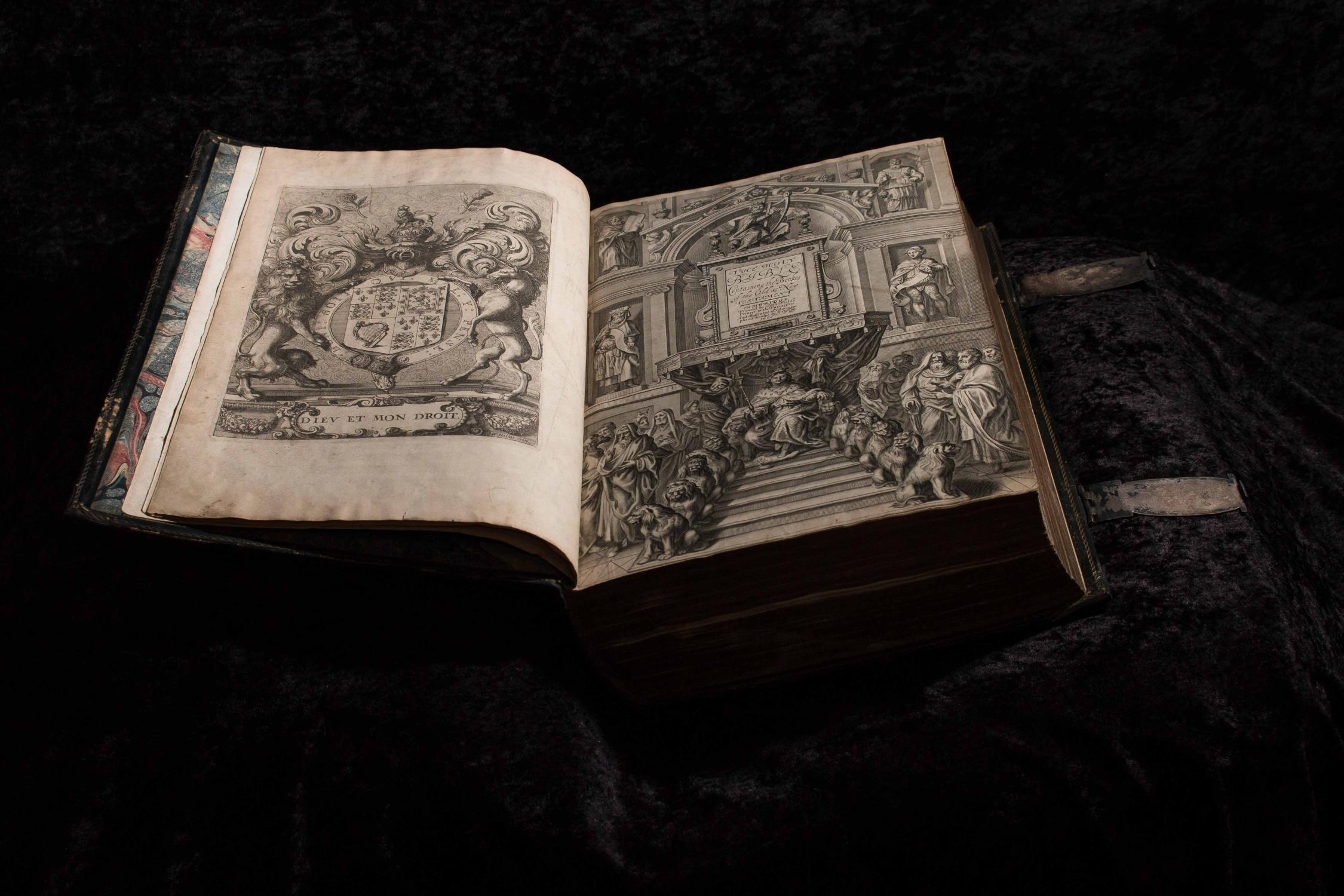 1660 Large Illustrated Folio of the