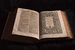 1611 King James Bible; First Edition, Second