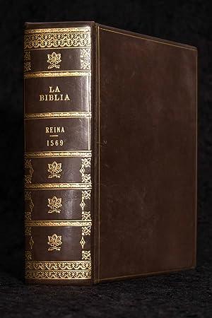 "1569 ""Bear"" Bible; First Bible in Spanish"