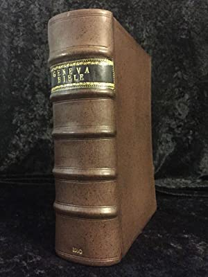 1560 Geneva Bible; First Edition