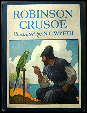 Robinson Crusoe: Defoe, Daniel Illustrated