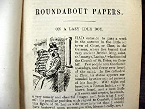 Roundabout Papers, The Four Georges, and English: Thackeray, William Makepeace