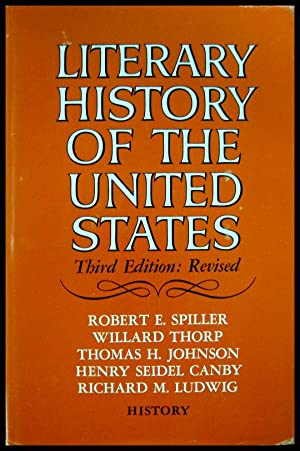 Literary History of the United States: History: Spiller, Robert E