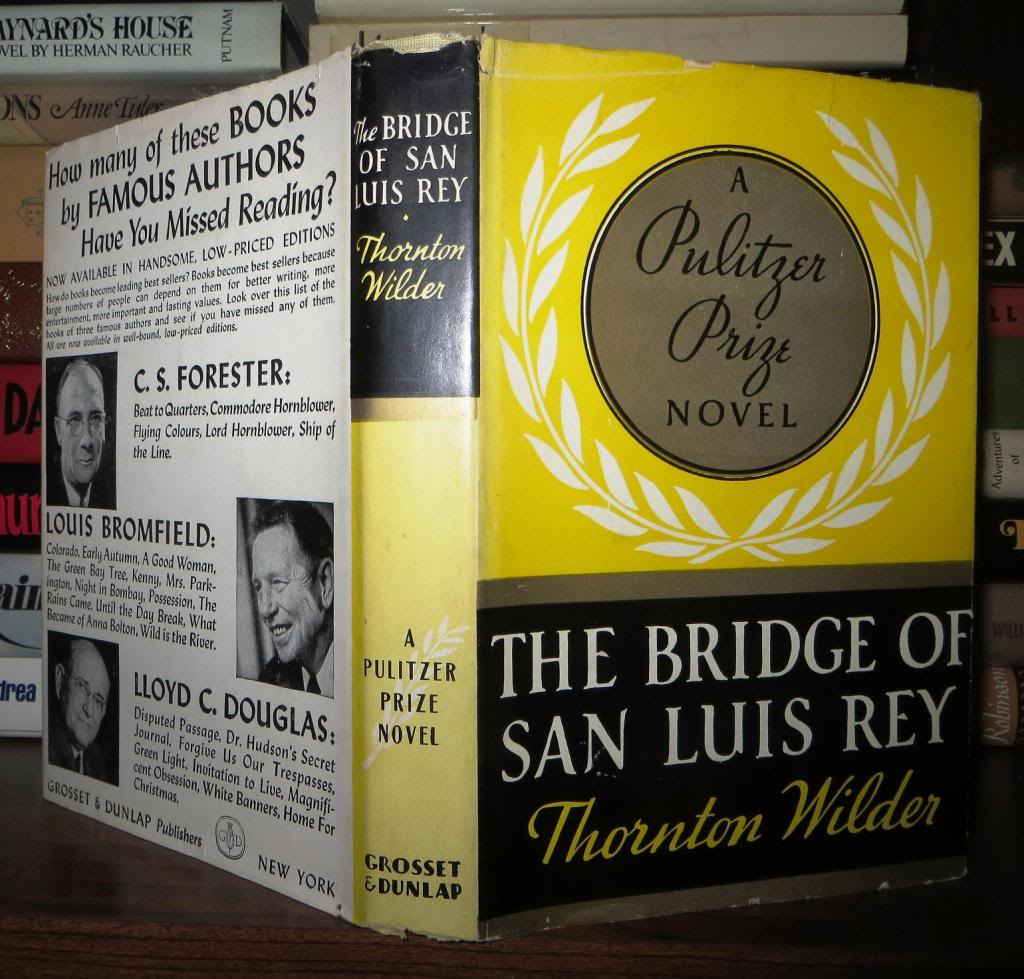 a character analysis of pepita in the novel the bridge of san luis rey by thornton wilder The the bridge of san luis rey community note includes chapter-by-chapter summary and analysis, character list, theme list, historical context, author biography and after the fire: a true story of love and survival 1k likes.