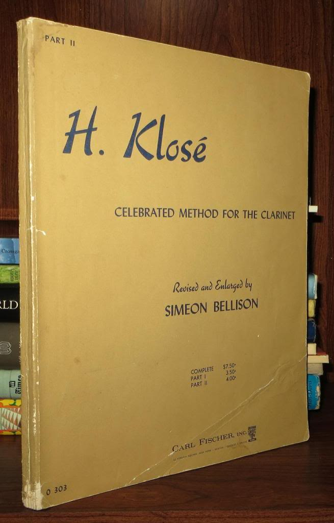 Complete Edition Celebrated Method for the Clarinet