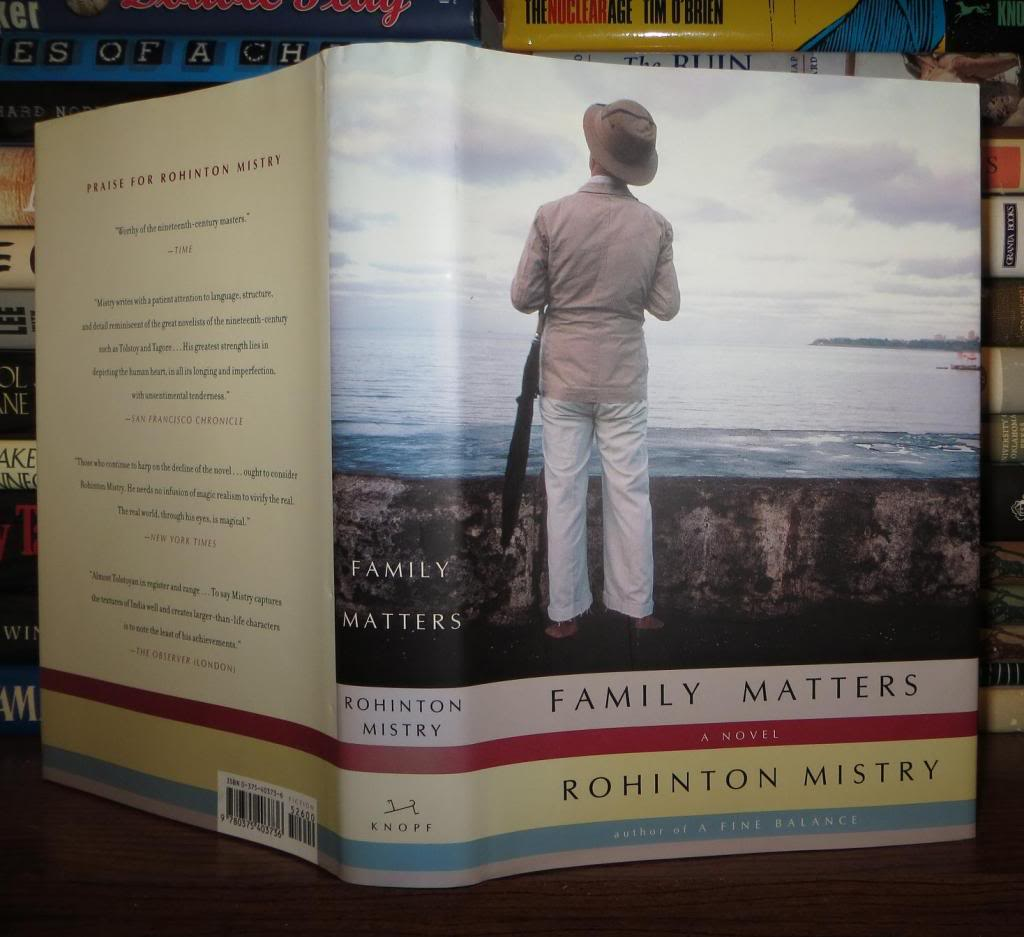 a unique portrait of the family in rohinton mistrys family matters Family matters ebook: rohinton mistry textured portrait of how a family copes or fails to cope with yet the author has added bombay's unique flavor.
